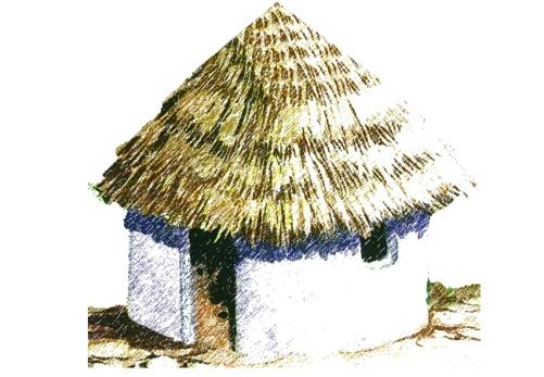 Cómo eran las casas mayas