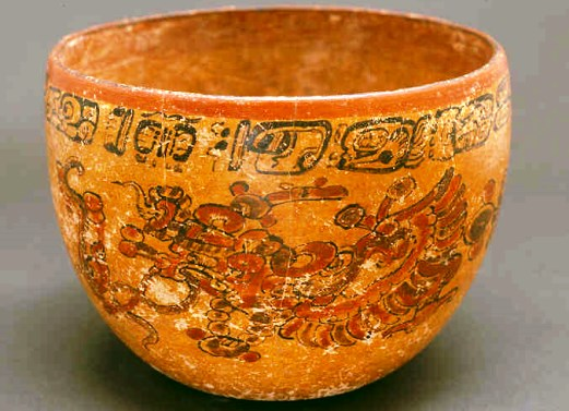 La cerámica en la cultura maya