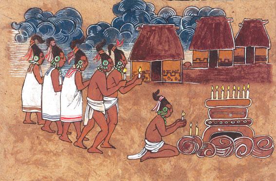 Costumbres de los mayas