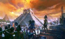 La decadencia de los mayas