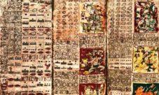 La escritura de los mayas