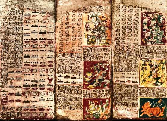 El desciframiento de la escritura maya