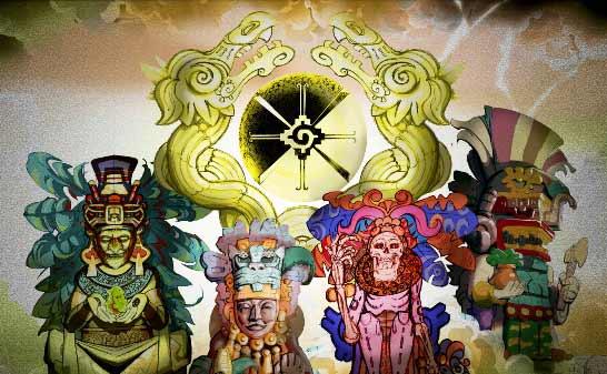 El panteón maya (los dioses)