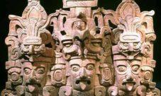 La escultura maya