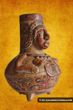 Las figuras de barro de los mayas