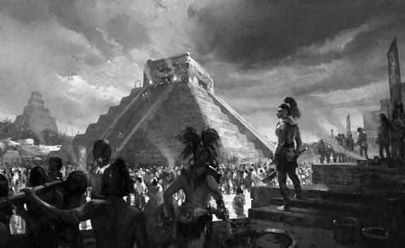 ¿Cómo era la forma de gobierno de los mayas?