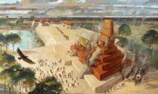 El entierro de los mayas