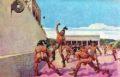 El juego de pelota de los mayas