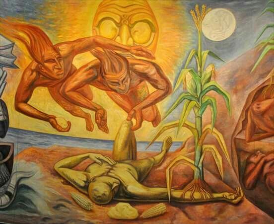 ¿Cuál es el origen del universo, según los mayas?
